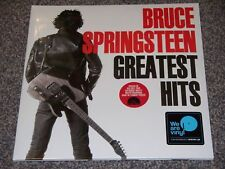 "BRUCE SPRINGSTEEN 'GREATEST HITS' 2 X 12"" BLACK VINYL *NEW*"