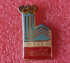 Pins COCA COLA Coke Affiche J.O. LAKE PLACID 1980 Jeux Olympique Olympia Games