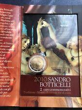 €€€ 2 euro SAINT MARIN San Marino 2010€€ SANDRO BOTTICELLI