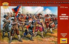 Zvezda  1/72 Austrian Musketeers & Pikemen XVII Century (45) ZVE8061
