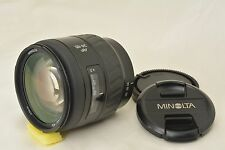 #753 Minolta AF Zoom 24-85mm F/3.5-4.5 With Front & Rear Caps  From Japan