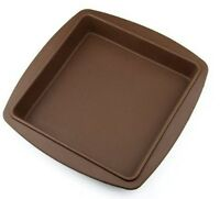 8 inch Square Silicone Cake Pans Toast Cake Baking Tray Bread Mould Pizza Molds
