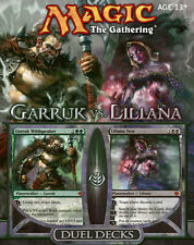 Garruk vs. Liliana Duel Deck - ENGLISH - Sealed - Brand New - MTG MAGIC ABUGames