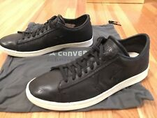 Converse by John Varvatos Limited Edition Pro Leather Ox All Black. US Mens 9