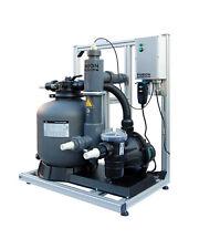 Komplettsystem Poolreinigung ökologisch Algen entfernen PURION 40 PVC