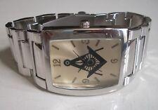 Men's Silver Finish/Gold Finish Dial Dressy/Casual Mason Fashion Wrist Watch