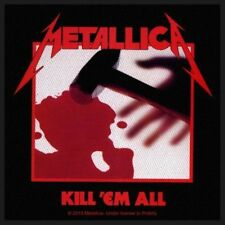 "Metallica "" KILL'EM ALL "" Patch / SEW-ON PATCH 602390#"