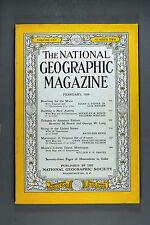 National Geographic Magazine, February 1959