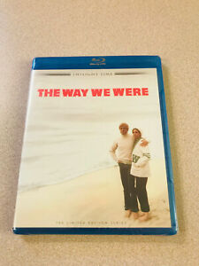 THE WAY WE WERE LIMITED EDITION TWILIGHT TIME BLU-RAY, LIKE NEW, STREISAND
