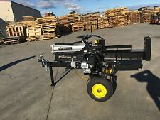 LOG SPLITTER Hydraulic 30Ton 6.5HP Petrol Wood Splitter $1399 Best Buy Online!