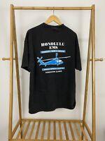 VTG Honolulu EMS Hawaiian Island Medical Helicopter T-Shirt Size XL