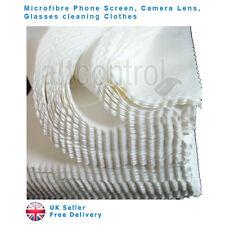 50 pantalla de teléfono de Microfibra Paño de Limpieza Limpiador Gafas de lente de cámara Cuadrado UK
