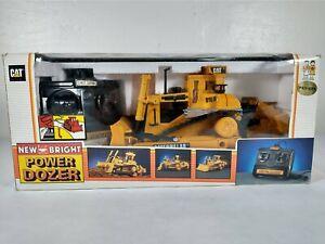 1995 New Bright Power Dozer CAT No. 291 Caterpillar Remote Control