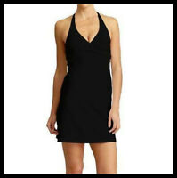 Athleta NWT Women's Tara Swimdress Color Black