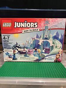 LEGO Juniors Frozen Anna & Elsa's Playground Complete Set Disney 10736