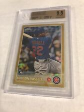 2015 TOPPS CHROME GOLD REFRACTOR ROOKIE ADDISON RUSSELL RC /50 BGS 9.5 GEM