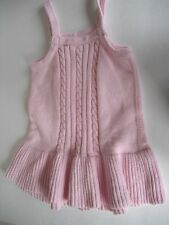 Baby GIRL Gymboree 3 3T Cable KNIT Strappy sweater Sun Dress Pink toddler