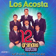 Los Acosta 12 Grandes exitos