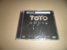 Toto -  Live In Amsterdam CD+DVD NEW / SEALED 25th anniversay