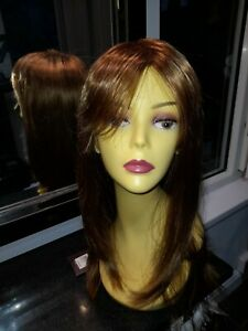 "Hothair wigs""   ""ATTENTION"" Caramel Glow  PETITE"