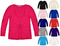 Girls School Cardigan Kids New Long Sleeves Top Ages 7 8 9 10 11 12 13 Years