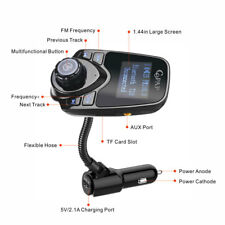 Car Wireless Bluetooth FM Transmitter Radio Adapter Audio for Phone MP3 Player