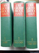 Der Grosse Brockhaus in 12 Bänden incl. Ergänzungsband, 1978, 18. Auflage
