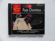 CD Album FATS DOMINO Music star Vol 22  22 fabulous tracks ms012