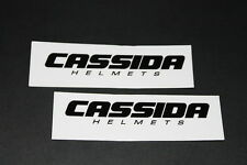 +054 Cassida CASQUE HELMETS INTEGRAL Autocollant Décalque sticker autocollant moto