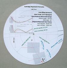 Linn Ittok LV-II/relatori Custom progettato Cartuccia Stylus allineamento Goniometro