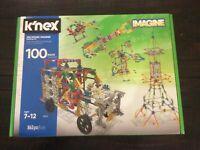 K'Nex 100 Model Building Set 863 pieces ages 7 plus
