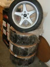 94-04 MUSTANG SVT GT COBRA 17x9 wheels + BFGoodrich G-FORCE COMP-2 245/45ZR17