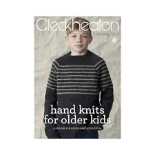 Cleckheaton Pattern Book #3011 Hand Knits for Older Kids 8 to 14 Years in 8 Ply