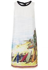 JUICY COUTURE MALIBU POINT SILK DRESS SUMMER BEACH COCKTAIL SHIFT DRESS SZ 0 NEW