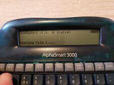 AlphaSmart 3000 portable keyboard wordprocessor with USB