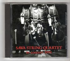 (GZ714) Sawa String Quartet, In Concert 1991 - Japanese CD