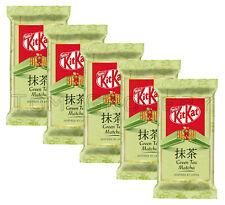 5 x KITKAT Green Tea Matcha Chocolate Bars Inspired by Japan 41.5g 1.46oz