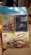 lillie solgaleo lunala double deck box case pokemon yugioh case sleeves japanese
