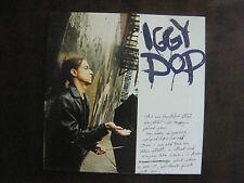 Livret  IGGY POP /  Edition Limitée FNAC (1993)
