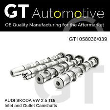 AUDI SKODA VW SET 2.5 TDi 059109021BP, 059109021BQ, 059109022BD, 059109022BC