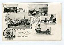cartolina pubblicita  MILANO TCI TOURING CLUB 1905  TURISMO PUBBLICITARIA