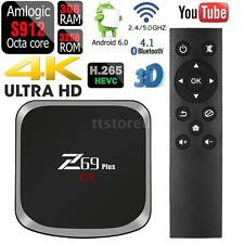 Z69 Plus 3G/32G Android TV Box Amlogic S912 Octa core BT4.1 Dual Wifi 4K 3D R4I6