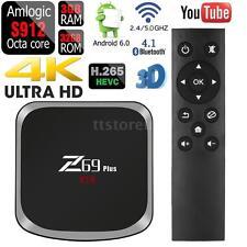 Z69 Plus 3G/32G Android TV Box Amlogic S912 Octa core BT4.1 Dual Wifi 4K 3D T0O2