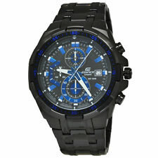 Casio EFR539BK-1A2 Edifice 54MM Men's Chronograph Black Stainless Steel Watch