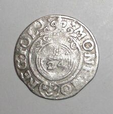 1620 Medieval Poland, Sigismund III. (1587-1632) AR 3 Polker