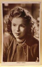 Film Stars - Shirley Temple -  #W305  postcard
