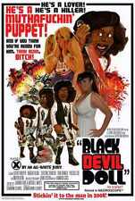 Black Devil Doll Poster 01 A2 Box Canvas Print