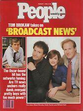 People Magazine February 1 1988  Tom Brokaw takes on Broadcast News