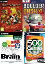 De mai mystères Secret of Dragonville & Boulder Dash XL & Brain Teasers & 500 jeux