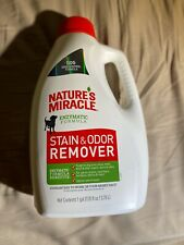 *New* Nature's Miracle Cat Enzymatic Formula Stain and Odor Remover 1 Gallon
